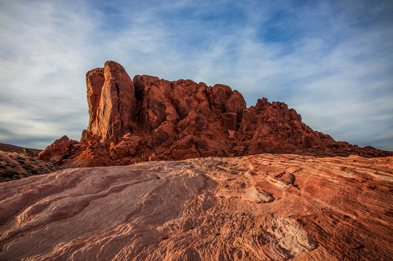 Valley of Fire Mountain