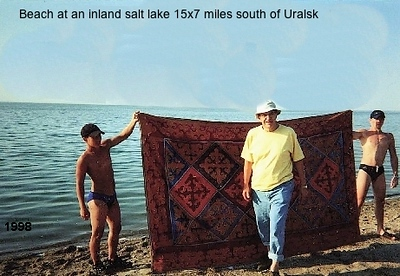 1998 trip to Kazakhstan