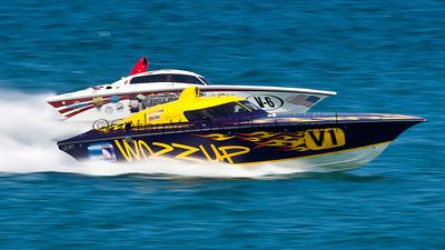 OPA 2012 Palm Beach Offshore Powerboat World Championship at Juno Beach, Jupiter, Florida, USA
