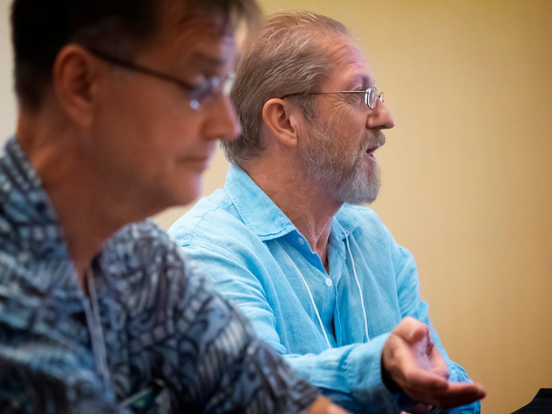 Lee Gurga and Jim Kacian presented The Next Level.