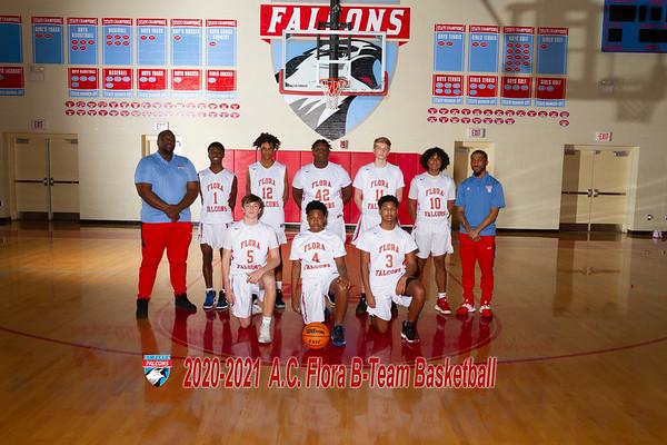2020-2021 B-team Boys Basketball