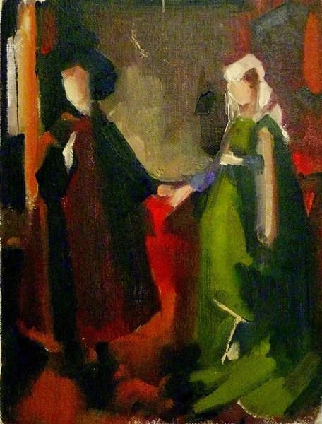 Rachel Hacohen after Van Eyck