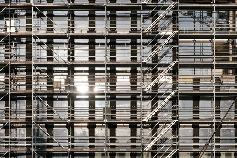 Praille Acacias Vernets (PAV) scaffoldings