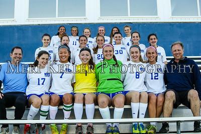 Middletown Soccer  Girls Teams, Seniors and Captain 2017
