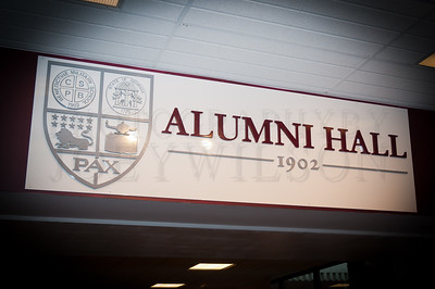 Alumni Hall Unveiled - 8/15/12
