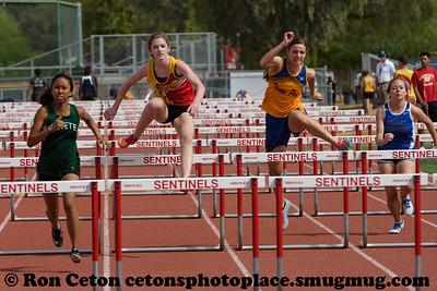 2017 Sentinel invite 100m Hurdles