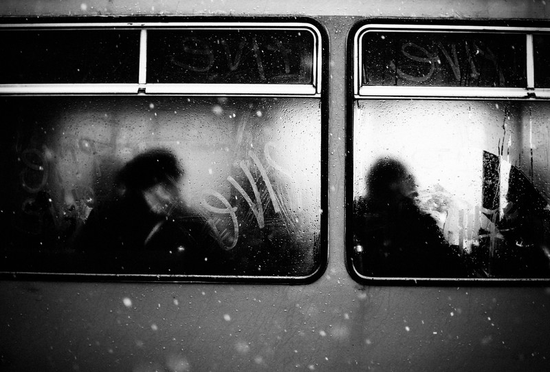 steamed side windows snow ffalling tram mono.jpg