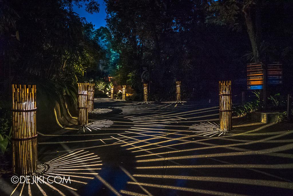 Singapore Zoo Rainforest Lumina - Floor lanterns