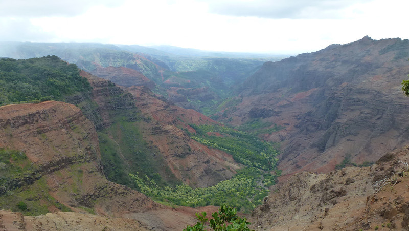 Waimea Canyon - Ni'ihau Lookout