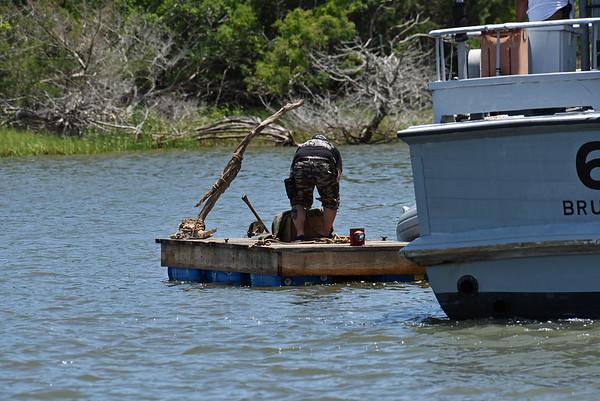 The Walking Dead Boats at Jekyll Island 06-23-19
