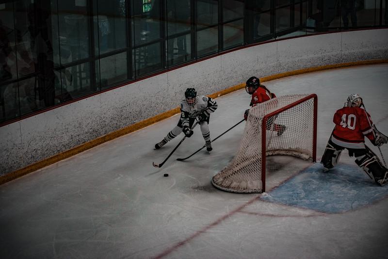 Holy Family Girls Varsity Hockey vs. Mound Westonka, 12/10/19: Grayson Limke '23 (19)