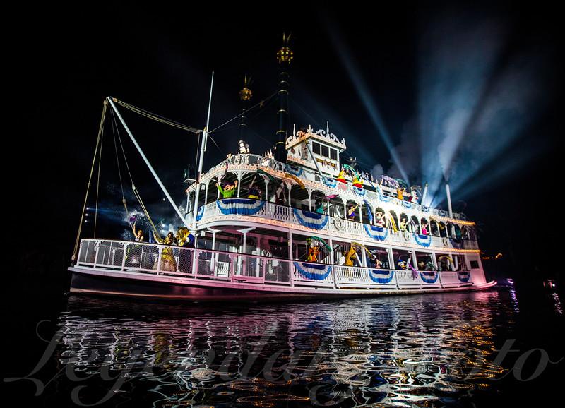 Mark Twain River Boat