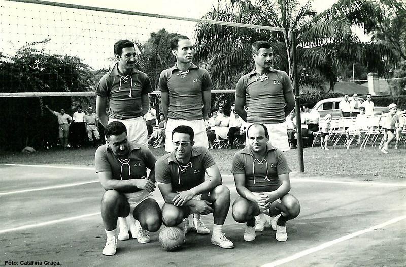 Chagas, Amieiro, Pinho Barros,(?), Ernesto Morais e Jorge Graça