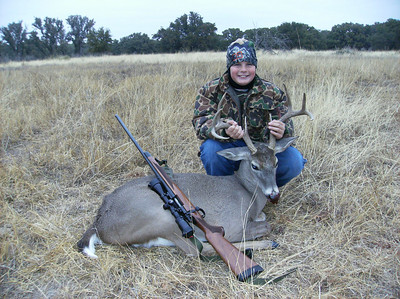 Aidan's LBJ Ranch Buck