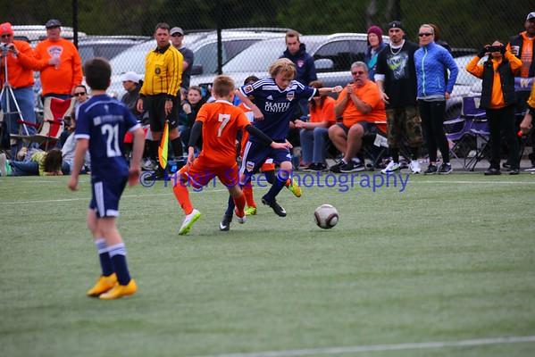 BU11 Division 2 RV Slammers v Seattle United