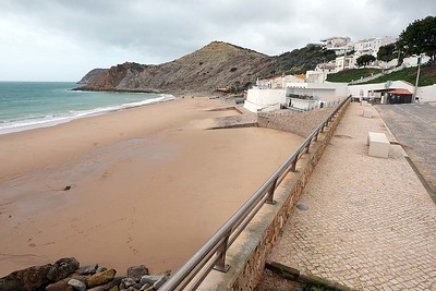 Burgau : on a cloudy day