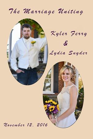Kyler & Lydia Ferry Wedding