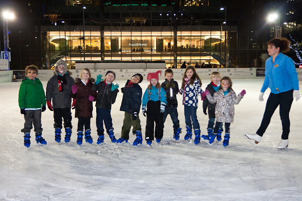 Skating 18th Dec 2010