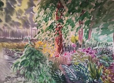 """""""City jungle"""" (watercolor) by Olga Aparina"""