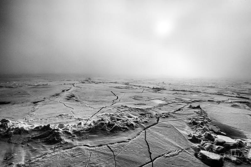 Endless Ice in Fog black and white.jpg