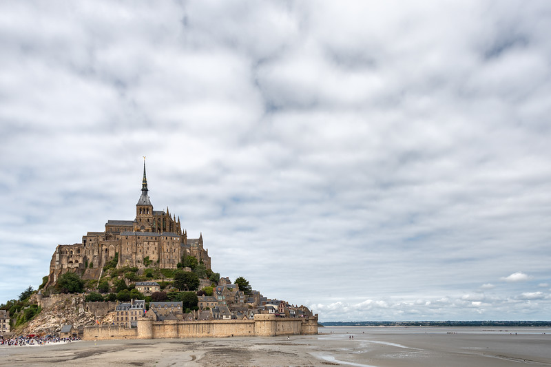 Mont Saint-Michel - Le Mont-Saint-Michel, France - August 14, 2018