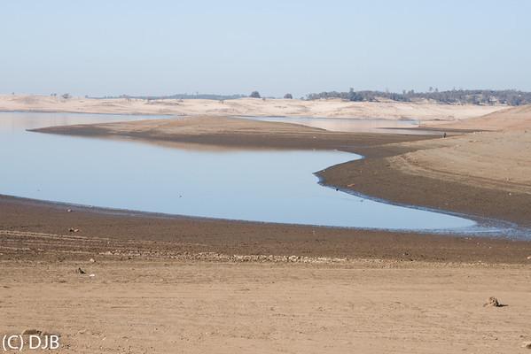 Folsom Lake January 2014