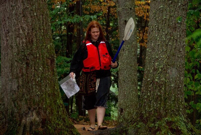 Jessyka Comes into the Canoe-O Finish   (Sep 09, 2007, 10:27am)