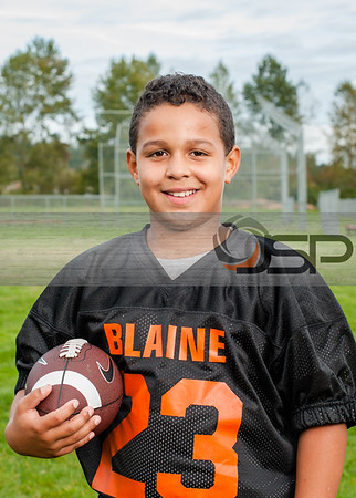 2014 Blaine Flag Football - Deming/ Vezzetti