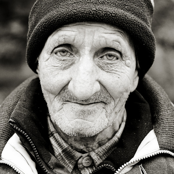 Homeless - Edinburgh - Street Portrait