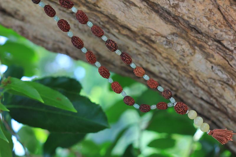 36-beads mala with Jade