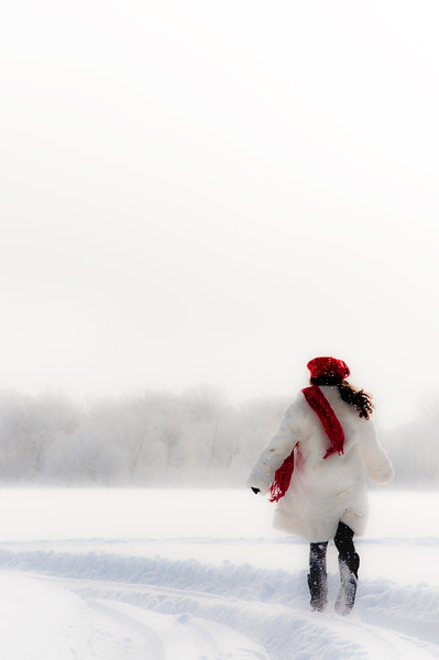 Girl in the Red Beret