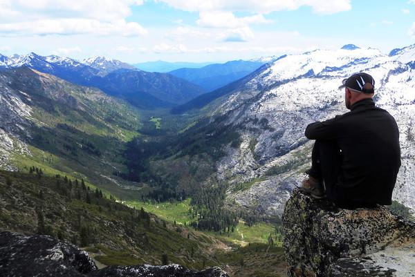 Trinity Alps, Stuart Fork: May 24-26, 2013