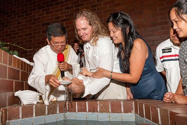 Xavi Baptism 2013
