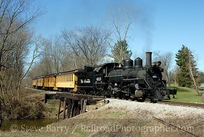 Huckleberry Railroad and Crossroads Village