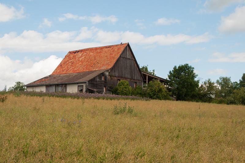 Auf den Feldern bei Dornstetten