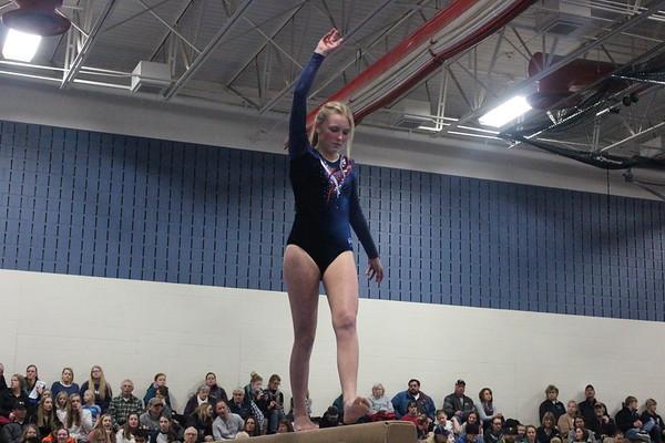 Gymnastics triangular 1-13-17