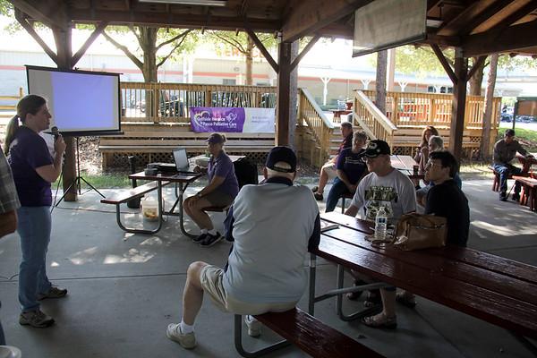 Community Veteran Pinning Ceremony, Gulfside Hospice, Harley Davidson, 5 16 2015