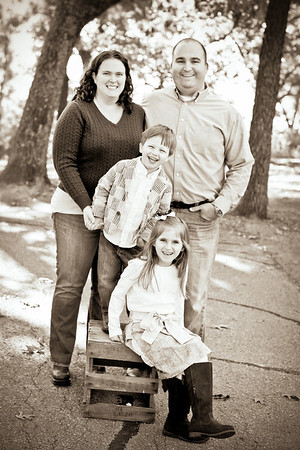 Bartlow Family- Fall 2012