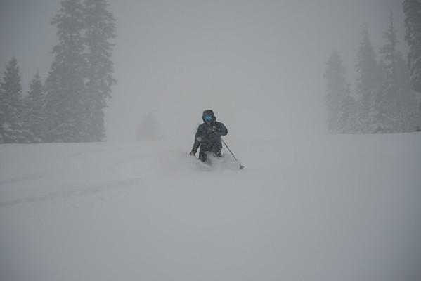 homewood powder skiing