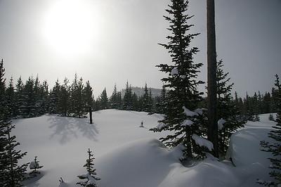 Winter at Bjerghuset