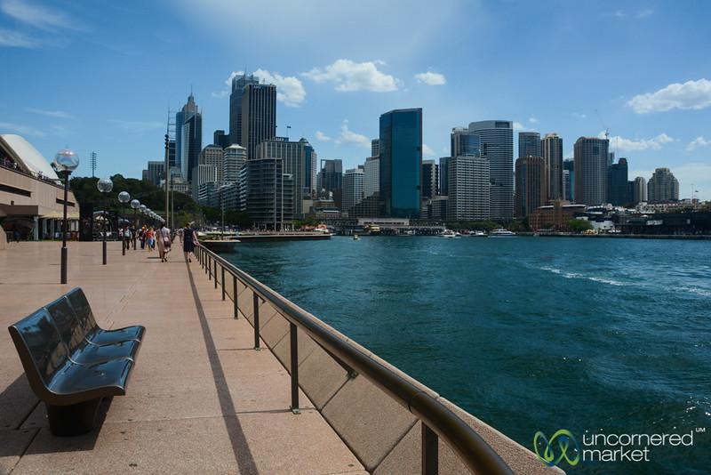 Sydney CBD, View from Opera House