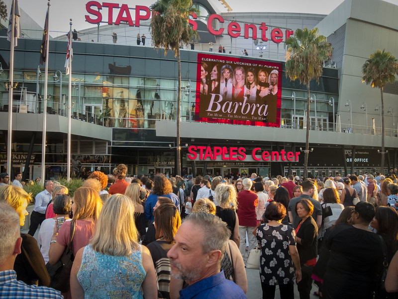 August 2 - Barbra Streisand at Staples.jpg