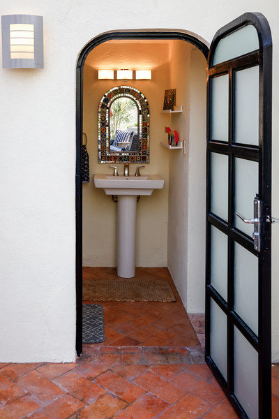 Rooftop Powder Room/Laundry Room
