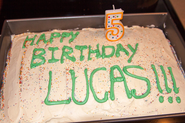 Lucas turns 5