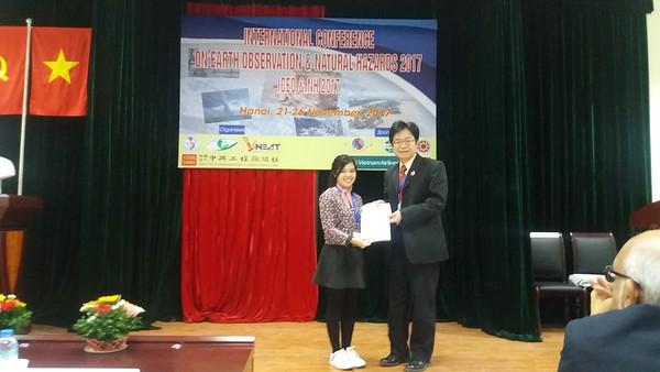 20171121越南博士生Loi獲獎