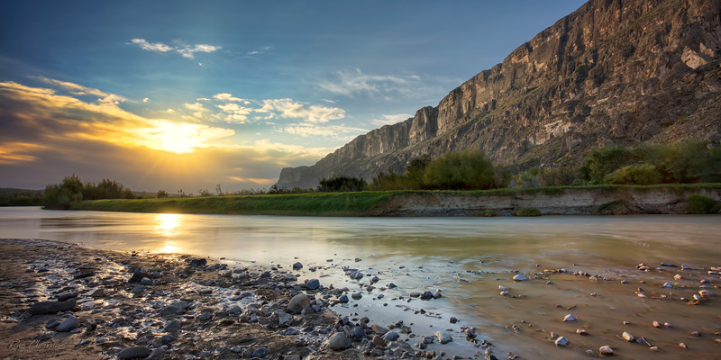 Sunrise on the Rio Grande