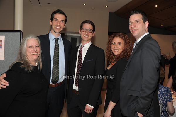 Amy Hundert, David O'Connell, Michael Reed,  JJ Leitner, David Leitner   photo  by Rob Rich © 2014 robwayne1@aol.com 516-676-3939
