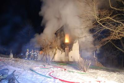 01-23-11 Three Rivers FD House Fire