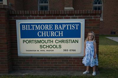 Clare's Kindergarten Graduation