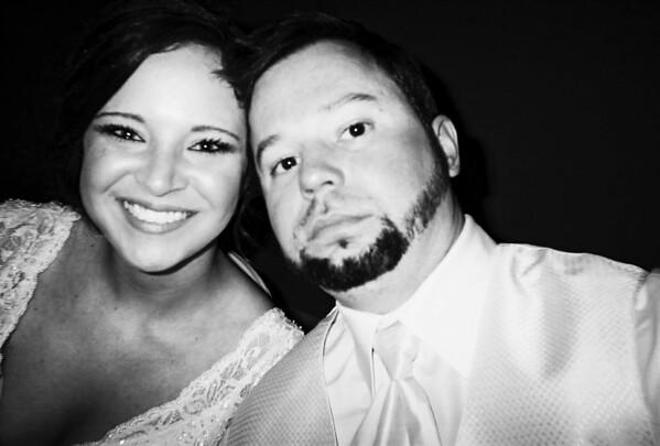 Lauren and Brandon Wedding Table Cameras